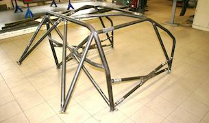 Det här är prototypen på VOC´s nya CERT-bur för Volvo 740 och 940.